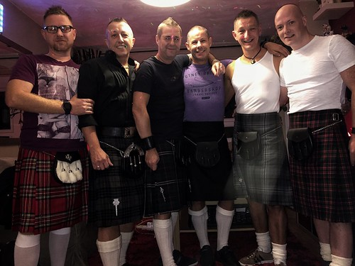Today is all about...kilt Qwerk night
