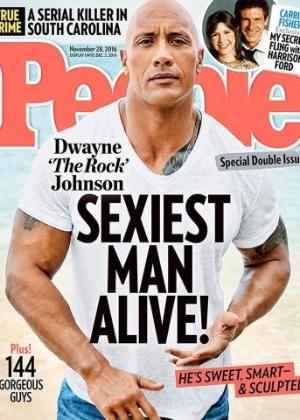 Dwayne Johnson, o The Rock, é eleito o homem mais sexy do mundo pela People