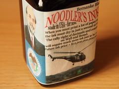Noodler's Bernanke Black - Close Up