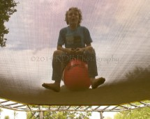 World' Of Feet And Trampoline