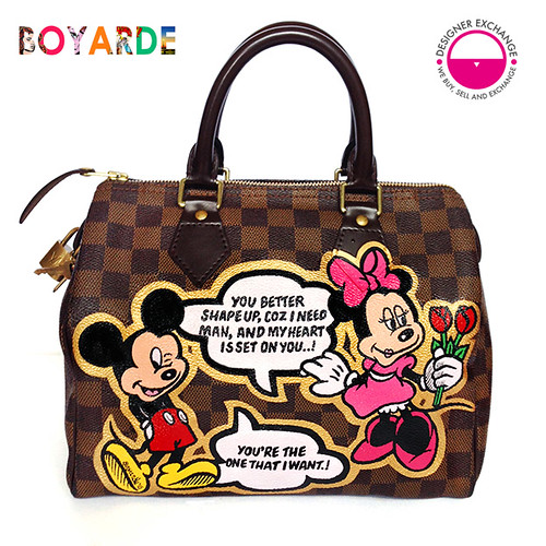 Designer Exchange Mickey Minnie LV x Boyarde