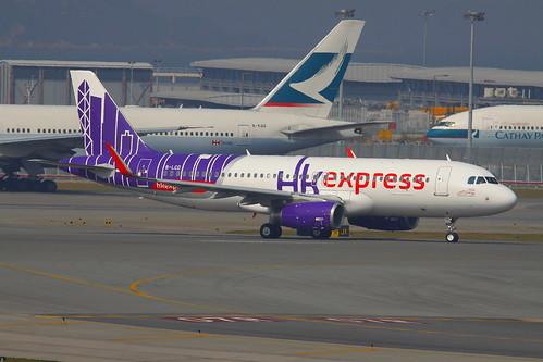 Flickriver: Airlines: HK Express [UO/HKE] pool