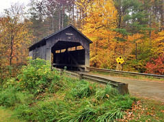 "Iconic Covered Bridge • <a style=""font-size:0.8em;"" href=""http://www.flickr.com/photos/19514857@N00/15753356296/"" target=""_blank"">View on Flickr</a>"