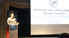 Lesley Hinds_ELREC's Equality Champions Gala Dinner