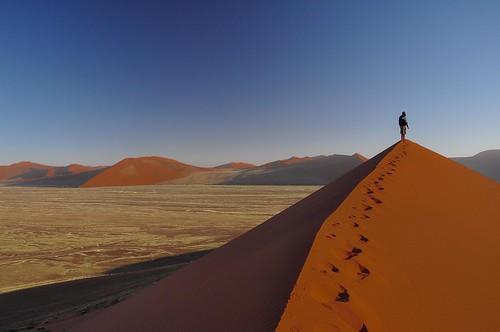 2015 National Trails Day photograph winner, from Alexandra Novitske, taken at the great Sand Dunes National Preserve. American Hiking Society