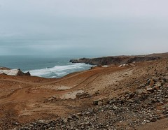 Day 557. It's been overcast for four days straight now. I was expecting it to get increasingly hotter as I moved south, but I was actually cold at points yesterday. #theworldwalk #travel #peru