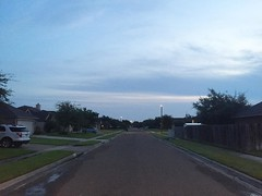 The Road Ahead. Day 163. Lindenwood Dr. in Corpus Christi, TX. Had a great three days with my friends @stephenjkahn and @leah_karin. Now I'm well rested and ready for a week walk down to the border of Mexico. Sorry about the site being down, all the traff