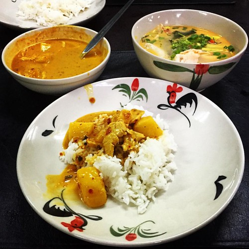 #Massaman #Curry & #coconutmilk #soup  #massamancurry #Kochkurs #cooking class #asiasceniccookingschool @ #ChangMai #Thailand  #thailoup #traveloup