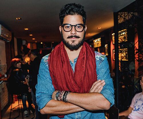 Victor Collor é blogueiro, fotógrafo e restaurateur