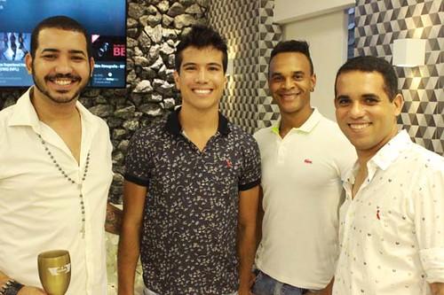 Luís, Thiago, Marcos e Ricardo