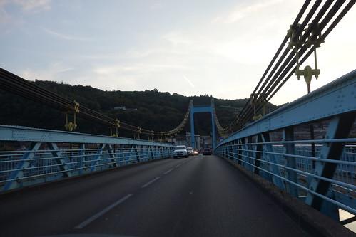 Nous traversons le Rhône (à nouveau !)