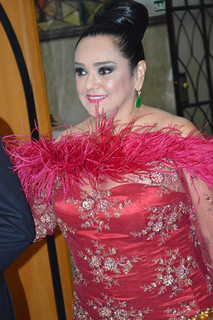 Maria Helena Costa Franco, em noite deslumbrante
