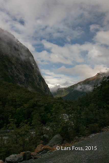 On the Road from Te Anau to Milford Sound