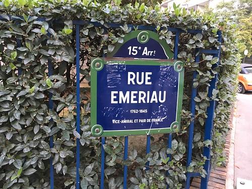 Le lendemain, direction l'école Emeriau juste à côté de l'école Rouelle !