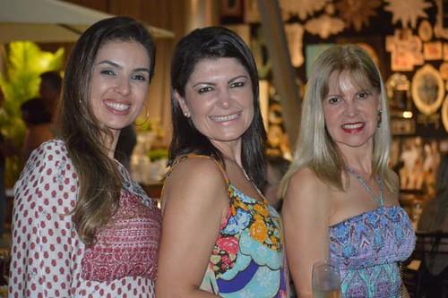 Raquel Moura, Márcia Bonicenha e Glória Cavaglieri