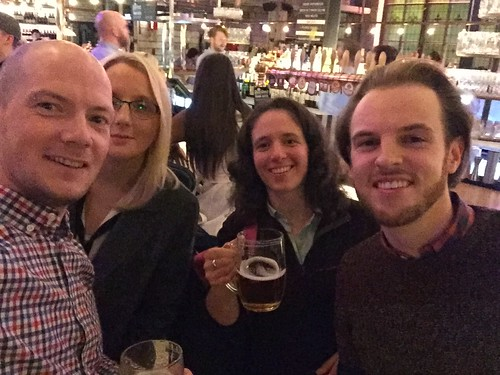 Today is all about...after work drinks with the Manchester team