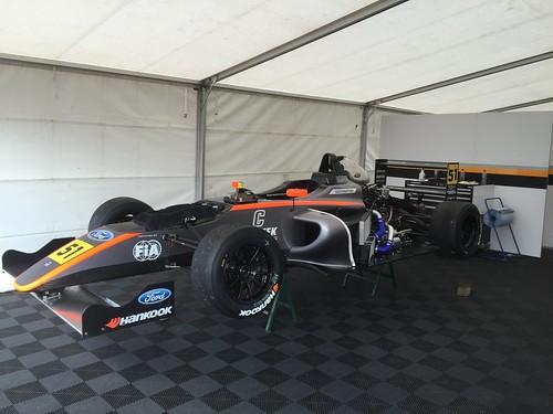 Ameya Vaidyanathan's MSA Formula car at Rockingham