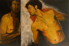 Angolo-La paura, olio su tela, 80×100, 2013