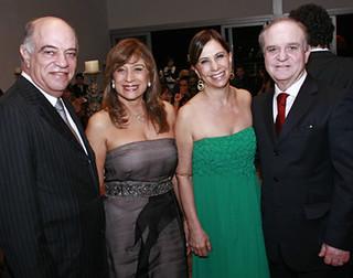 Omar Silva Jr. e Gracinha,  Shirlene e Wilson Nélio Brumer