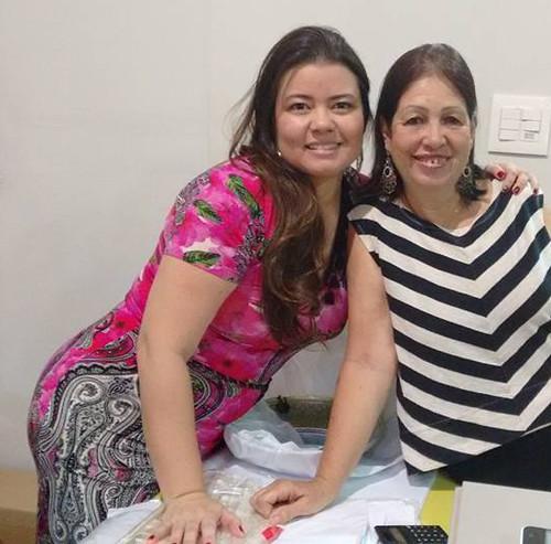 Paula Silveira e Lelena
