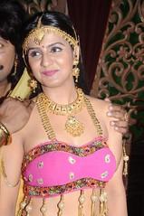 South Actress CHARULATHA Hot Photos Set-2- at Sri Ramanujar film shooting (15)