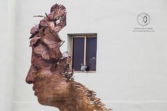 Street art sculpture in Havana.