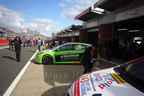 Stewart Lines during the BTCC Brands Hatch Finale Weekend October 2016