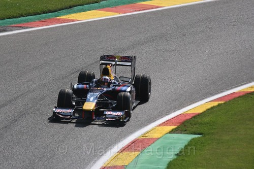 Pierre Gasly in GP2 Qualifying at the 2015 Belgium Grand Prix