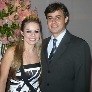 Kelly Cavaglieri e Fabiano Maia