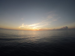 Coucher de soleil Ouest Ste Lucie