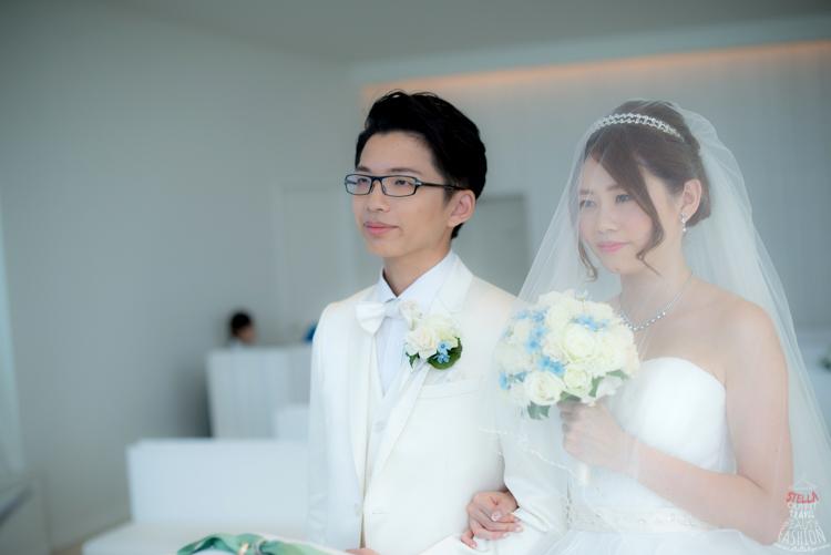 【2015沖繩海外婚禮】夢幻證婚當天的儀式流程分享。7小時輕鬆完成洽談,梳化,拍婚紗照,結婚典禮 - Stella ...