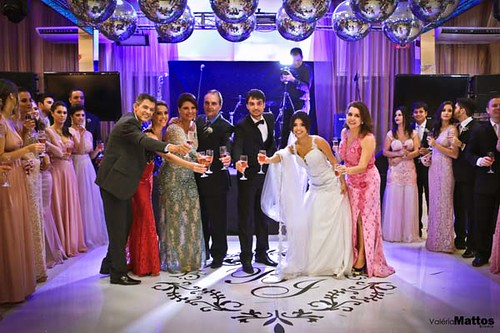 Tim tim dos noivos e seus pais