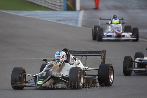 Ian Hughes Van Diemen RF88 in the Monoposto Tiedman Trophy during the BRSCC Winter Raceday, Donington, 7th November 2015