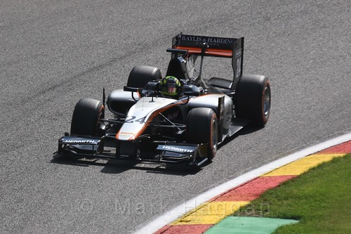Nick Yelloly in GP2 Qualifying at the 2015 Belgium Grand Prix