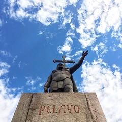 Don Pelayo #pelayo #covadonga #asturias #spain #españa