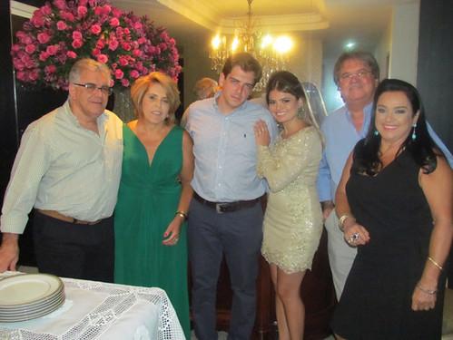 Dr. Jorge Albert Saliba, Tereza Albert Saliba, Rafael Albert Saliba, Ana Lúcia Costa Franco, Darcy Franco e Maria Helena Franco
