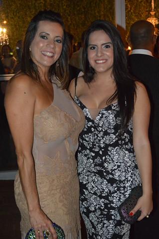 Cláudia e a filha Mariana Pereira da silva