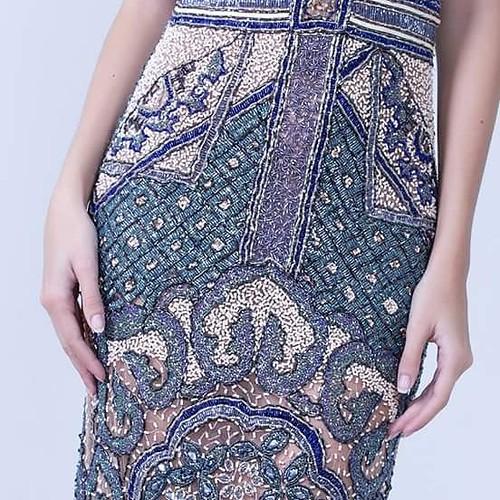 Detalhes de uma bordado perfeito. Exclusivo Fabiana Milazzo