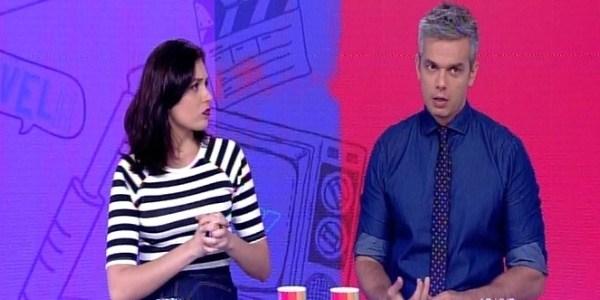"""Otaviano Costa confunde Maitê Proença com Bruna Lombardi no """"Vídeo Show"""""""