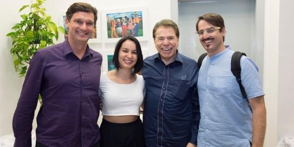 Silvio Santos se reúne pela 1ª vez com produtores de mostra sobre ele em SP