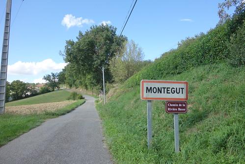Arrivée à Montégut !