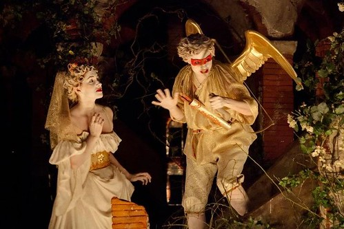 Venus dans Egisto de Cavalli. Opéra de Rouen sous la direction de Vincent Dumestre. Mise en scène : Benjamin Lazar
