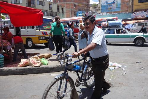 À Cochabamba, rares sont les vélos ... mais ils existent !