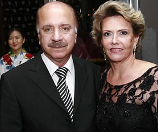 O presidente da Consul, Matusalém Sampaio, e Olga
