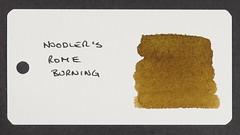 Noodler's Rome Burning - Word Card