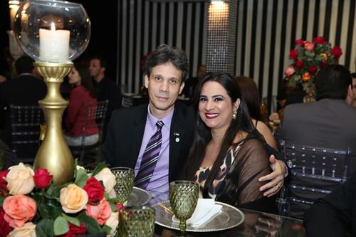 Cláudio Zambaldi e Aline