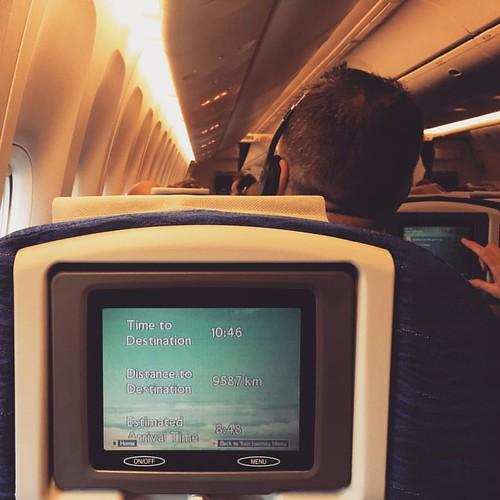 Ready for take off  9587km / 5957 miles to fly  #London - #Bangkok #LHR - #BKK #Thailand #thailoup #traveloup