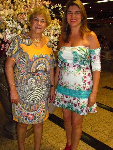 Martha Lara e Brunhilde Costa