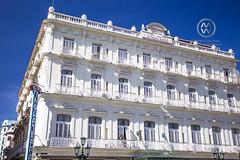 The Hotel Inglaterra at Havana's Central Park.