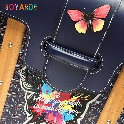 Goyard butterflies silhouette wooden handles 6 copy